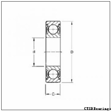 CYSD NJ317E cylindrical roller bearings