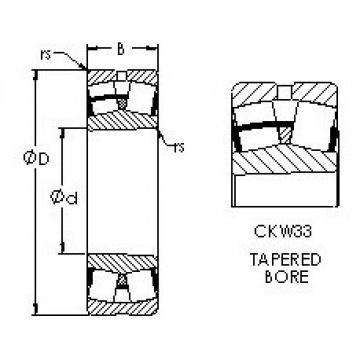 AST 23034CKW33 spherical roller bearings