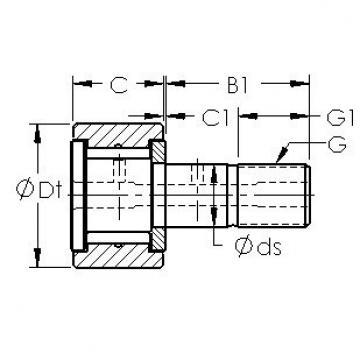 AST CF28 needle roller bearings