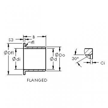 AST ASTEPBF 1416-17 plain bearings
