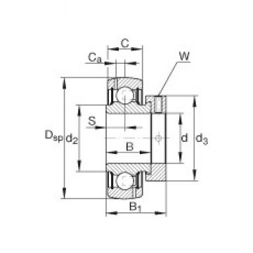INA GRA115-NPP-B-AS2/V deep groove ball bearings