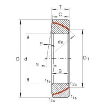 INA GE190-SW plain bearings