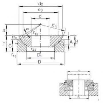 INA GE 10 AX plain bearings