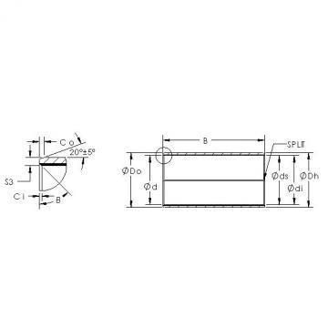 AST AST850SM 3215 plain bearings