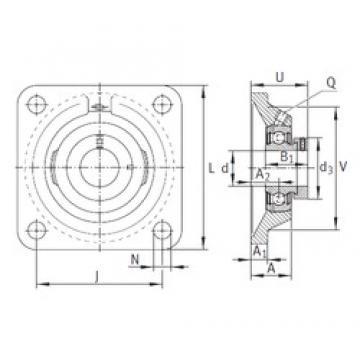 INA PCJ45-FA125 bearing units