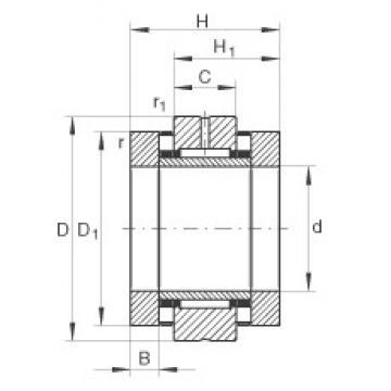 INA ZARN90180-TV complex bearings