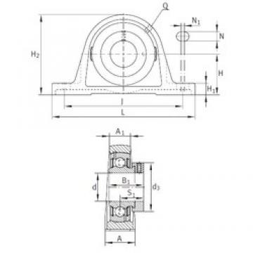 INA PASE1-3/4 bearing units