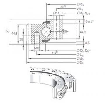 INA VSA 20 0744 N thrust ball bearings
