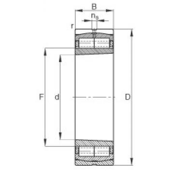 FAG F-800593.ZL-K-C5 cylindrical roller bearings