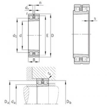 INA NN3020-AS-K-M-SP cylindrical roller bearings