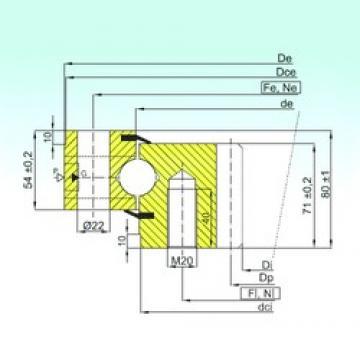 ISB ZB1.25.0855.201-2SPTN thrust ball bearings