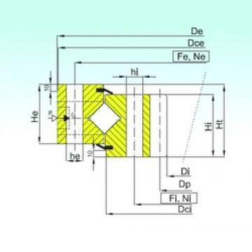 ISB ZR1.50.2810.400-1SPPN thrust roller bearings