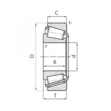CYSD 33011 tapered roller bearings