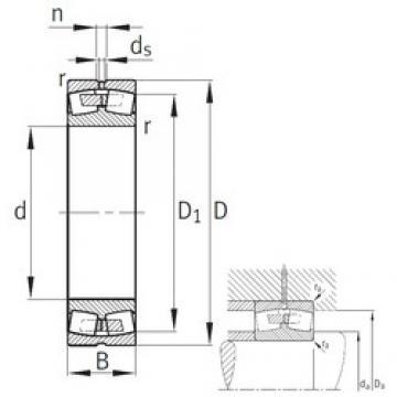 FAG 24196-B-K30-MB spherical roller bearings