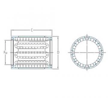 SKF LBBR 14 linear bearings