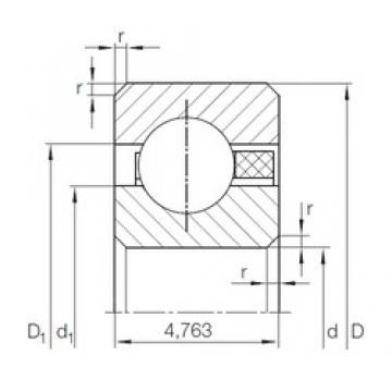 INA CSCAA 017 TN deep groove ball bearings