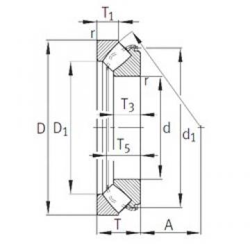 INA 29318-E1 thrust roller bearings