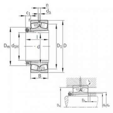 FAG 23148-B-K-MB spherical roller bearings
