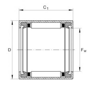 INA SCH710-PP needle roller bearings