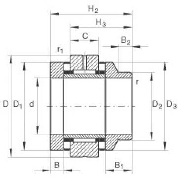 INA ZARN4090-L-TV complex bearings