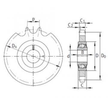 INA KSR16-L0-10-10-14-08 bearing units