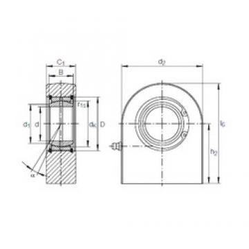 INA GF 45 DO plain bearings