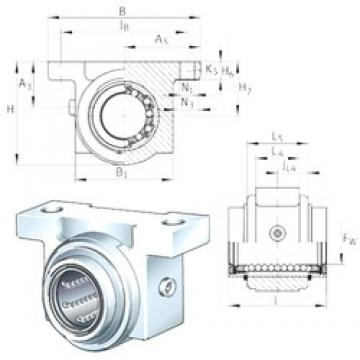 INA KGB50-PP-AS bearing units