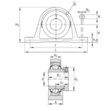 INA RAK1-3/16 bearing units