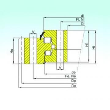ISB ER3.20.1250.400-1SPPN thrust roller bearings