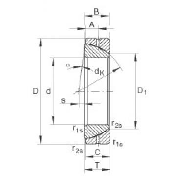 INA GE90-SX plain bearings