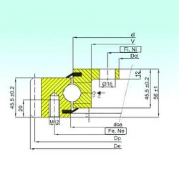 ISB EBL.20.1094.201-2STPN thrust ball bearings
