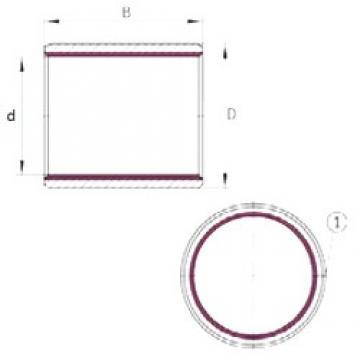 INA EGB0610-E40-B plain bearings