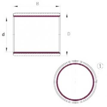 INA EGB1412-E40 plain bearings