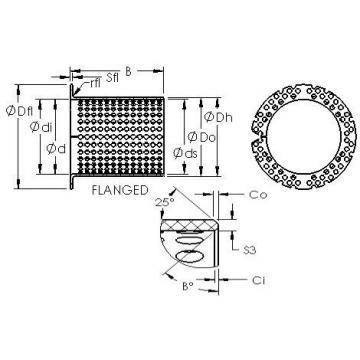 AST ASTT90 F11070 plain bearings