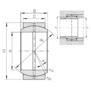 INA GE 10 DO plain bearings