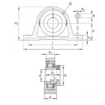 INA PAK5/8 bearing units