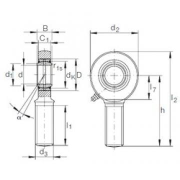 INA GAR 20 DO plain bearings