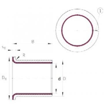 INA EGF12170-E40 plain bearings