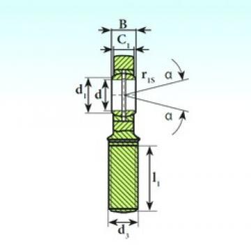 ISB SA 35 ES 2RS plain bearings