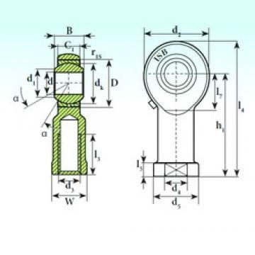 ISB TSF 12 plain bearings