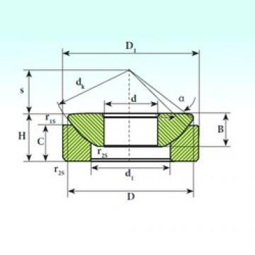 ISB GX 120 SP plain bearings
