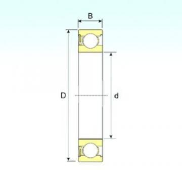 ISB 6035-RZ deep groove ball bearings