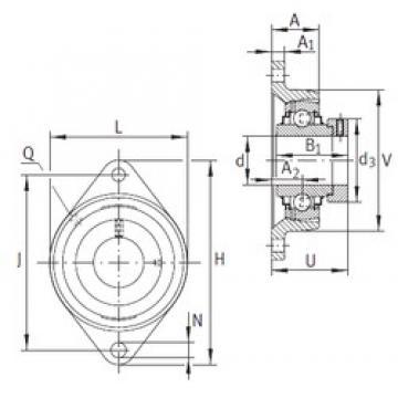 INA RCJT45 bearing units
