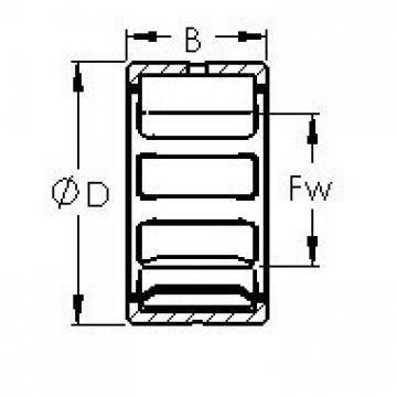 AST NK19/20 needle roller bearings
