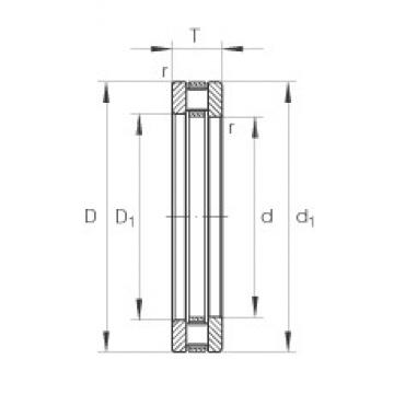 INA 81240-M thrust roller bearings