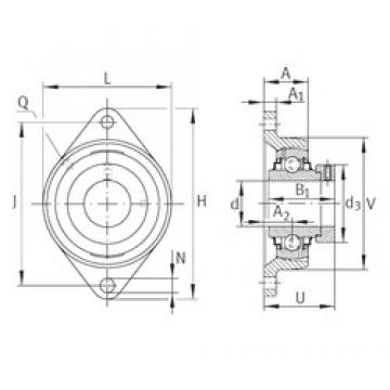 INA RCJT1-3/8 bearing units