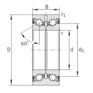 INA ZKLN1545-2Z thrust ball bearings