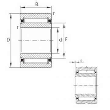 INA NKI7/12-TN-XL needle roller bearings