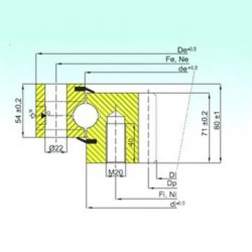 ISB ZB1.25.0455.200-1SPTN thrust ball bearings