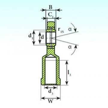 ISB SI 10 E plain bearings
